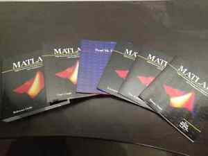 Mint condition Matlab books from 1994