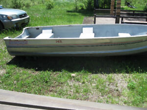 Six Heavy Duty 14' Aluminum Resort/Guide Boats-Deep & Wide