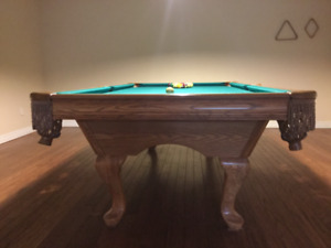 Exceptional pool table