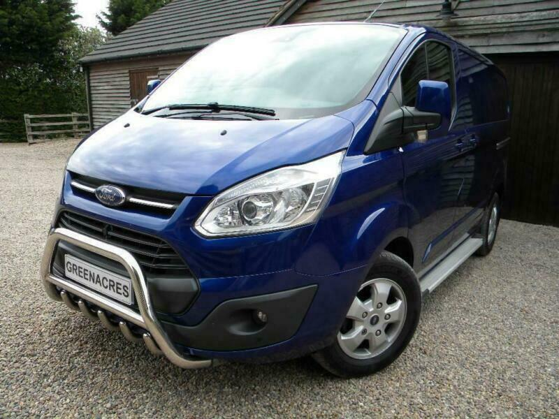 2017 FORD TRANSIT CUSTOM 270 L1H2 LIMITED LOW ROOF PANEL VAN PANEL VAN  DIESEL | in Warsop, Nottinghamshire | Gumtree