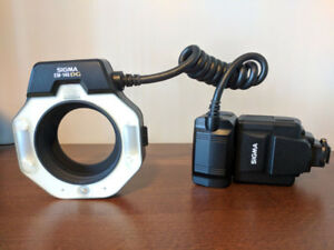 Sigma EM-140 DG Ring Flash for Nikon