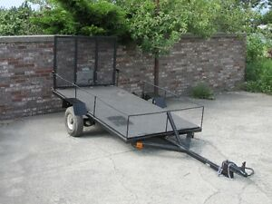4ftX8ft Trailer, with ramp