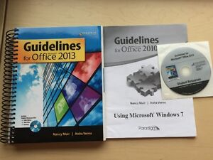 Guildlines For Office 2013 Textbook+CD For Sale