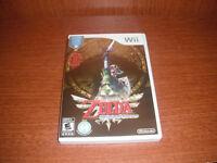 Zelda Skyward Sword (Wii)