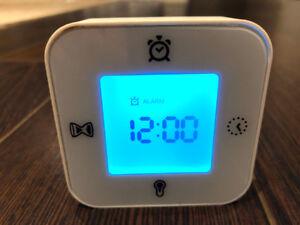 5 Assorted Digital Alarm Clocks