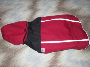 Good 2 Go, Dog Red and Black Winter Coat, Size Small to Med