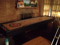 10' Wood Shuffleboard- great condition