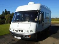 Hymer S520 SALE AGREED. BRIAN JAMES CAR TRAILER STILL AVAILABLE