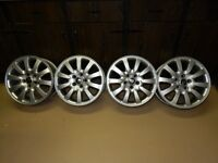 16 Inch 5 bolt alloy rims to fit Jaguar, Ford, Volvo, Cadillac