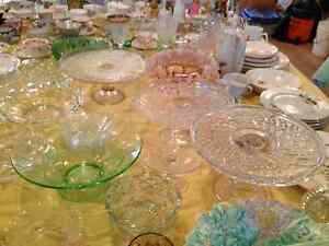 Depression Glass, China bowls, plates, cups & saucers, Spoons Kitchener / Waterloo Kitchener Area image 7