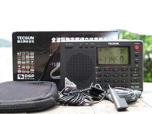 Free Shipping Tecsun PL-380 PL380 radio  Portable Radio FM Stereo/LW/SW/MW DSP