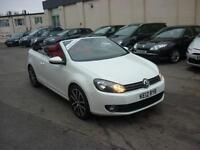 2012 Volkswagen Golf 2.0TDI ( 140ps ) BlueMotion Tech GT Convertible