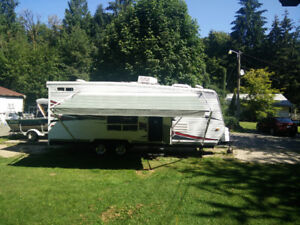 23' Toy Hauler travel trailer Eclipse