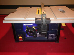 Mastercraft job site tablesaw
