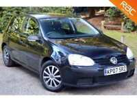 2007 07 VOLKSWAGEN GOLF 1.4 S 5D 79 BHP 51MPG! 1 OWNER + VW HISTORY!