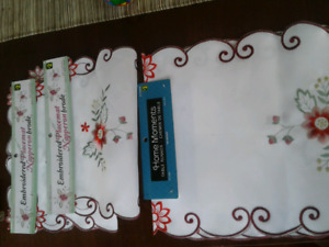Brand New Christmas Table Runners and Placements