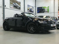 Audi TT Roadster 2.0 TFSI, 07 Reg, 81k, Phantom Black, Half Leather, FSH.