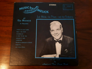 RARE Jack Melick's First Album Vinyl Record in Great Condition!
