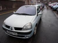 RENAULT CLIO 1.2 dynamique 2004 Petrol Manual in Silver