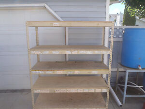 Commercial shelving 5' x 2' x 6' high