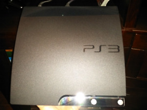 Ps3 with 17 games.  Great condition
