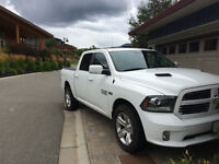 2014 Dodge Power Ram 1500 leather Pickup Truck