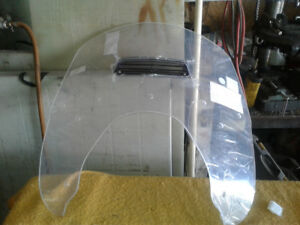 2015 Indian vented windshield, 2013 Yamaha Vented windshield