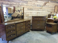 Vintage Bedroom Set - Delivery Available