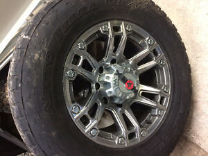 All Terrain Nitto Terra Grappler Tires