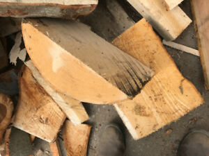 Slabwood/ Firewood and sawdust