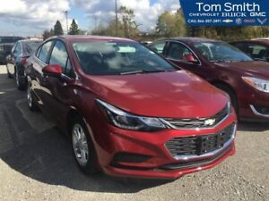 2018 Chevrolet Cruze LT  LT CONVENIENCE PACKAGE, HEATED SEATS