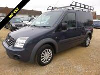 2012 12 FORD TRANSIT CONNECT 1.8 TDCI T200 TREND LOW ROOF SWB 90 BHP NO VAT 7079