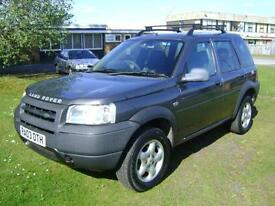 Land Rover Freelander 2.0Td4 2003MY Serengeti WITH A PROPSHAFT