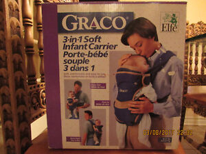 NEW Graco 3-in-1 soft infant baby carrier sling