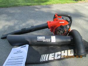 ECHO Shred N Vac ES-255 Souffleur à feuilles, broyeur