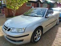 2006 SAAB 9-3 2.0 VECTOR T 2D 150 BHP MANUAL PETROL IN SILVER