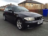 2005 BMW 118d SE SPORT DIESEL 6 SPEED FULL LEATHER PX TO CLEAR