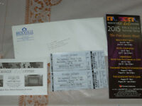 Patsy Cline show 2 tickets $67 value must sell