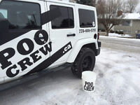 DOG OWNERS Dog-waste removal service cleans yards & pens PooCrew