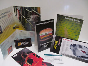 Business Cards, Brochures, Flyers Kitchener / Waterloo Kitchener Area image 1