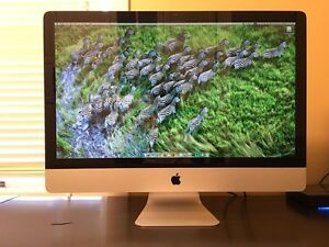 "iMac 27"" - Mid 2011 - 2.7 GHz Intel core i5 - 16 GB memory"