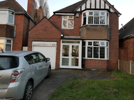 3Double bed detached house to let Hall Green