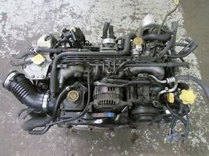 JDM Subaru Legacy Twin Turbo EJ20 Engine