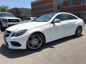 MERCEDES E350 COUPE  4MATIC 2014