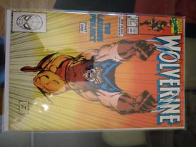 Marvel Wolverine #27 Jim Lee cover -comic