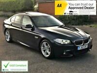 2013 BMW 5 Series 520d M Sport 4dr Auto Pro Nav, Sunroof, ULEZ SALOON Diesel Au