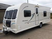 Bailey OLYMPUS 534, 2010, 4 Berth Fixed Bed, End Washroom, FULL ISABELLA AWNING!