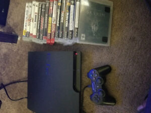 PS3 with 15 Games