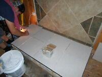 Small tile  jobs