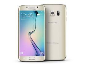 samsung galaxy s6 edge 64gb gold unlocked!